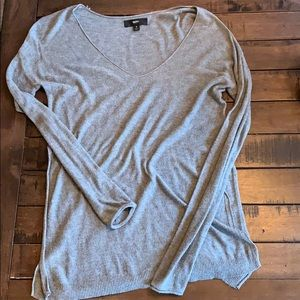 Mossimo brand grey lightweight sweater tunic small